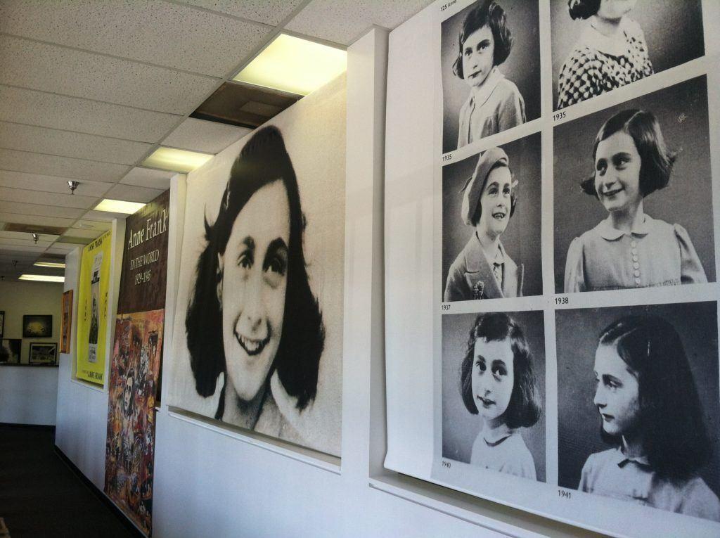 Anne Frank Exhibit Sandy Springs