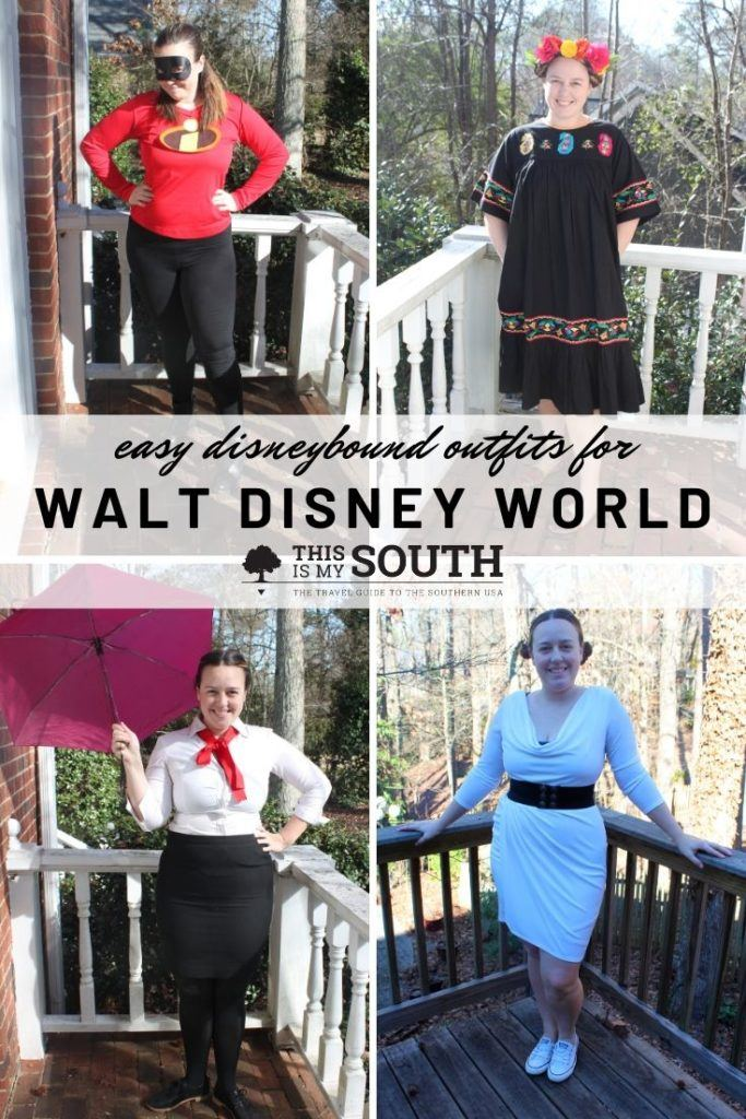 easy disneybound outfits