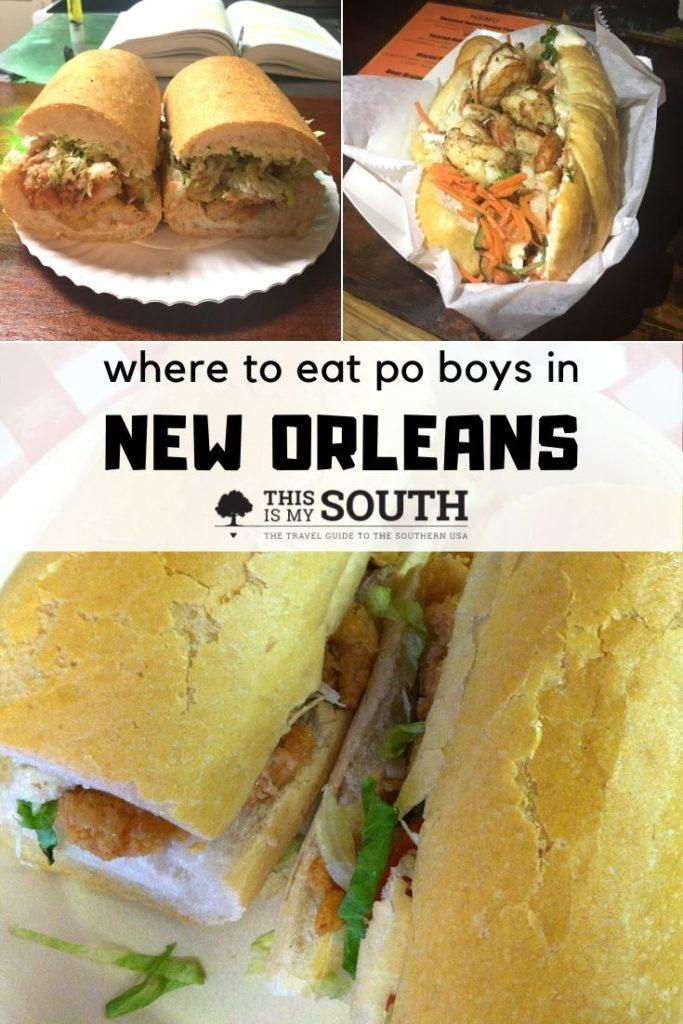 where to eat po boys in New Orleans